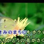 ありがとうの花 おかあさんといっしょ 横山だいすけ・三谷たくみ【子供向けカラオケ練習用】